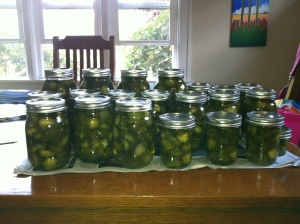 last year's pickles